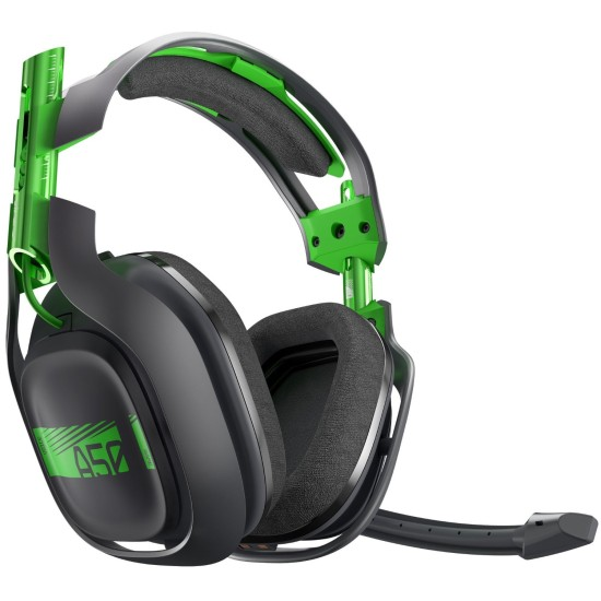 ASTRO Gaming A50 3rd Generation Gaming Headset 7.1 - Black / Green - XB1 - PC Windows 7-8-10