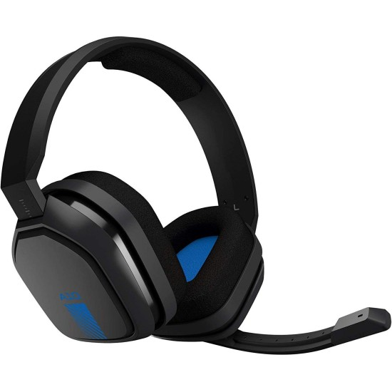 ASTRO Gaming A10 Wired Headset - Black/Blue - PS4 / XB1 / PC / Mac