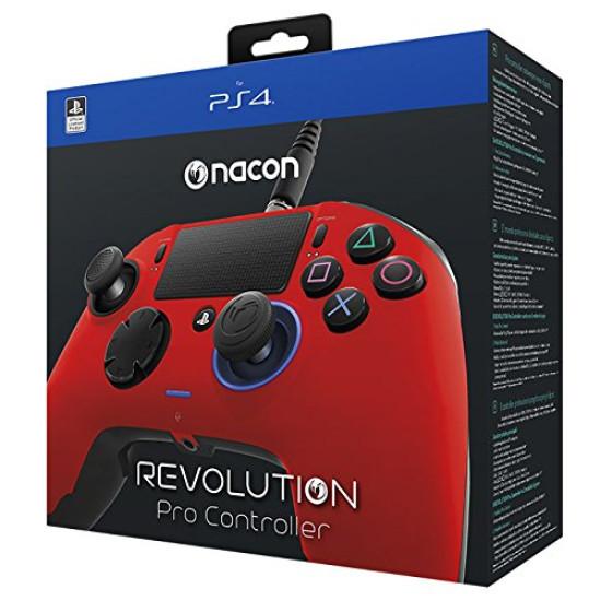 Nacon Revolution Pro Controller - Red   PS4
