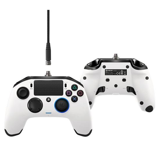 Nacon Revolution Pro Controller - White   PS4