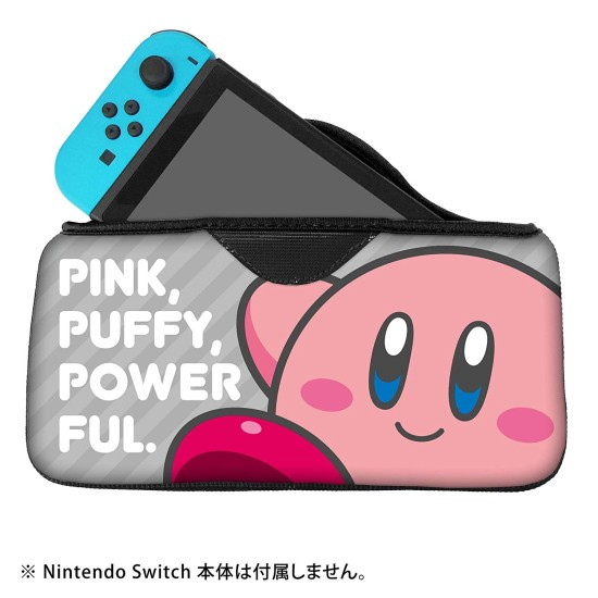QUICK POUCH COLLECTION - Kirby - Neon Pink - Nintendo Switch