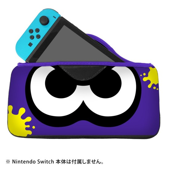 QUICK POUCH COLLECTION - Splatoon 2 - Bright Blue - Nintendo Switch
