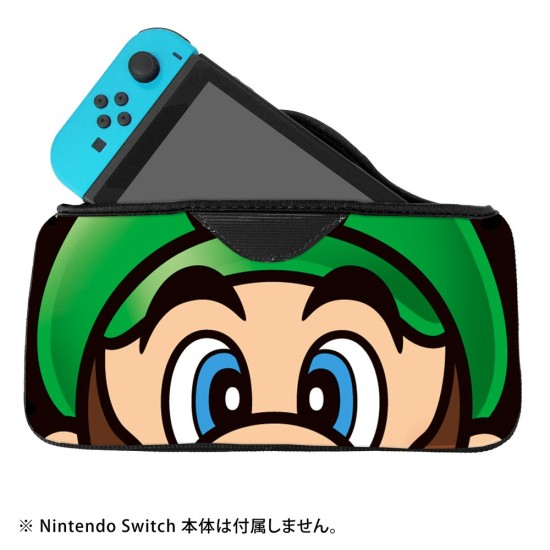 QUICK POUCH COLLECTION - Super Mario - Green - Nintendo Switch