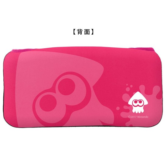 QUICK POUCH COLLECTION - Splatoon 2 - Neon Pink - Nintendo Switch