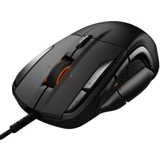 SteelSeries Rival 500 - Optical Gaming Mouse - Black