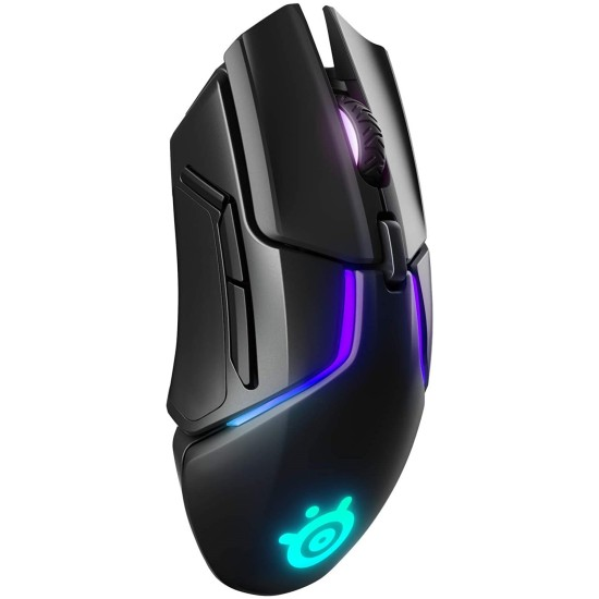 SteelSeries Rival 650 - Quantum Wireless Gaming Mouse - Black