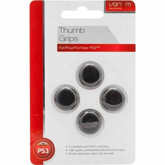 Venom Thumb Grips for use with PS3 and Xbox controllers
