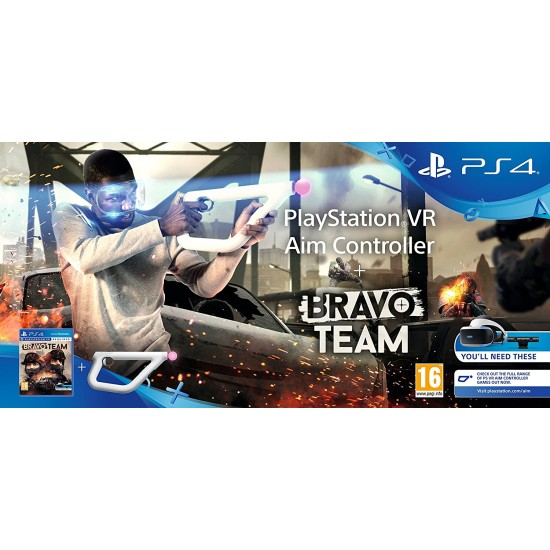 Bravo Team + Aim Controller Bundle - PSVR - PS4