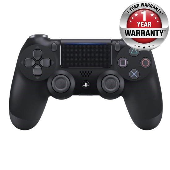 Sony DualShock 4 Wireless Controller - One Year Local Warranty - Black