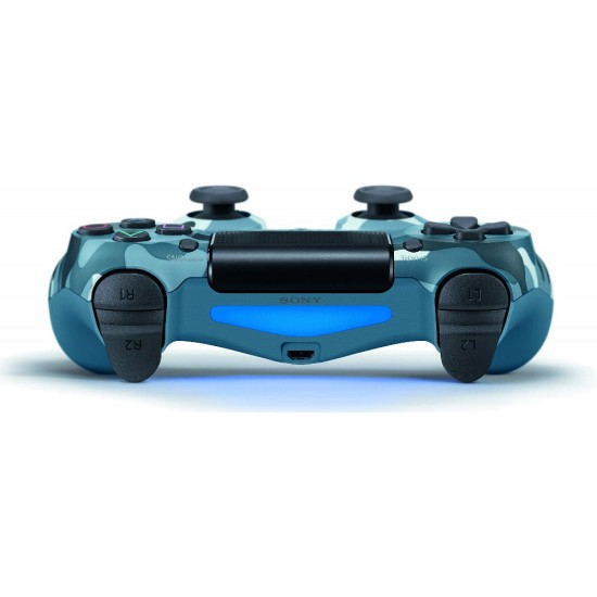 Sony DualShock 4 Wireless Controller - One Year Local Warranty - Blue Camouflage