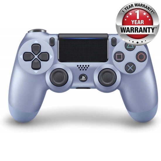 Sony DualShock 4 Wireless Controller - One Year Local Warranty - Titanium Blue