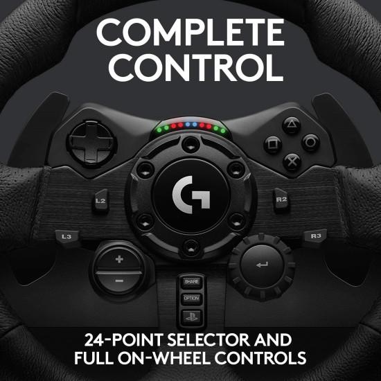 Logitech G923 Racing Wheel + Driving Force Shifter - PlayStation 4 & 5 - PC