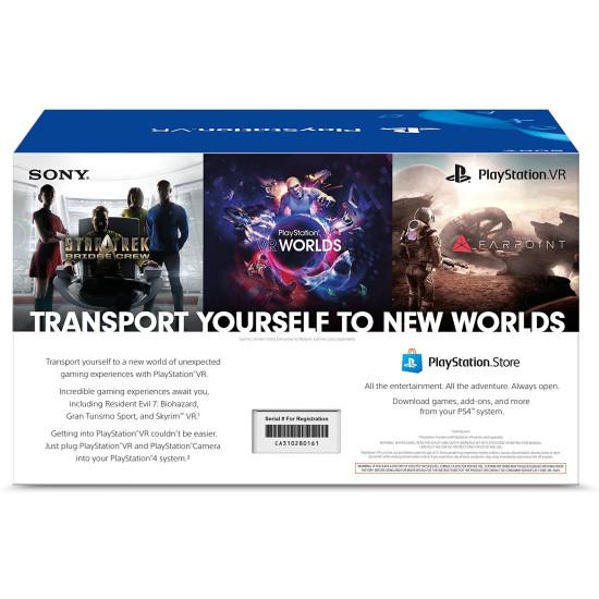 Sony PlayStation VR Headset + Camera Bundle   PSVR