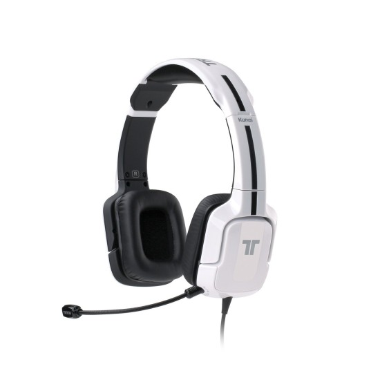 TRITTON Kunai Universal Stereo Headset - for PS4, PS3, X360, PS Vita, and Mobile Devices - White