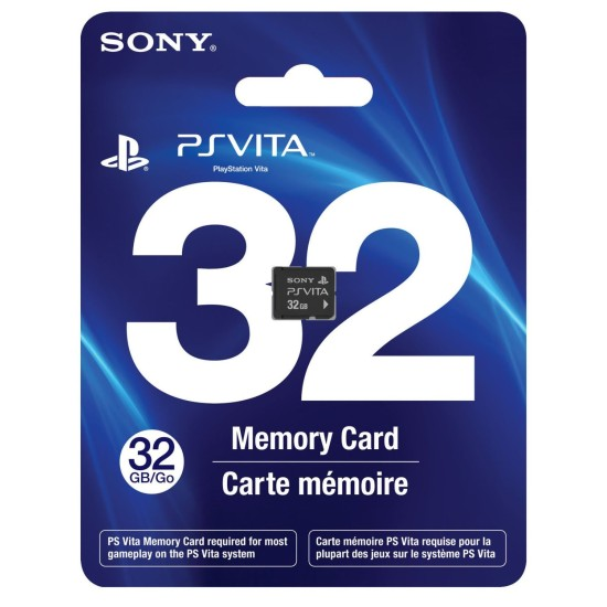 Official 32GB PS Vita Memory Card | Used Like New