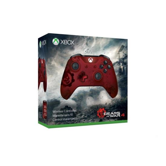 Microsoft Xbox One Wireless Controller - Gears of War 4 Crimson Omen Limited Edition