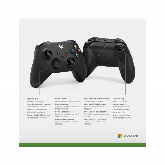 Xbox Wireless Controller - Carbon Black