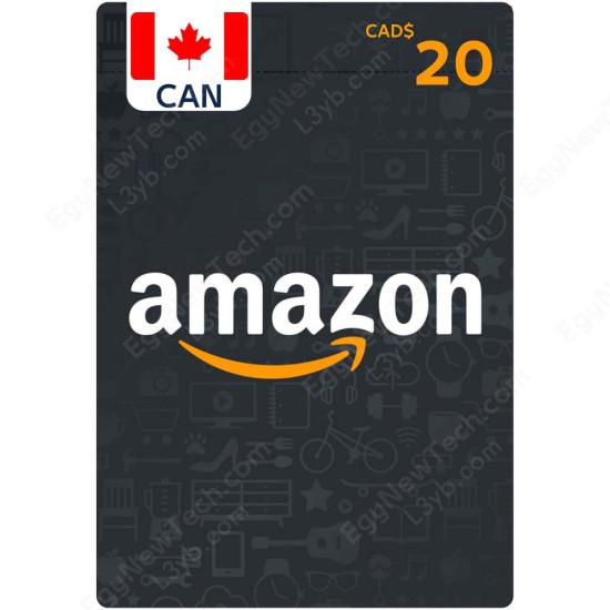CDN$20 Canada Amazon Gift Card - Digital Code