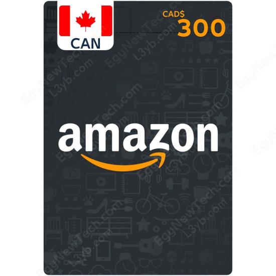 CDN$300 Canada Amazon Gift Card - Digital Code