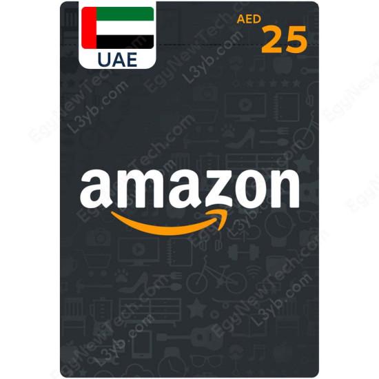 AED25 UAE Amazon Gift Card - Digital Code