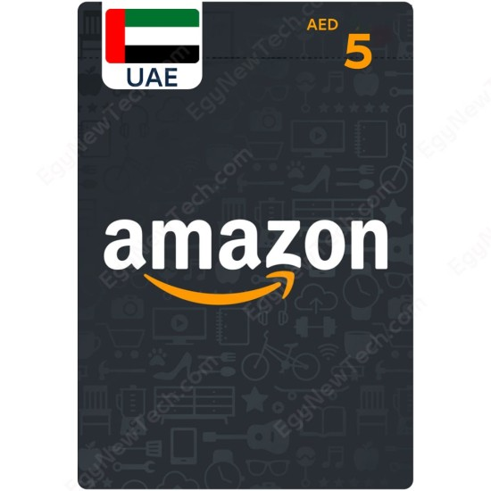 AED5 UAE Amazon Gift Card - Digital Code