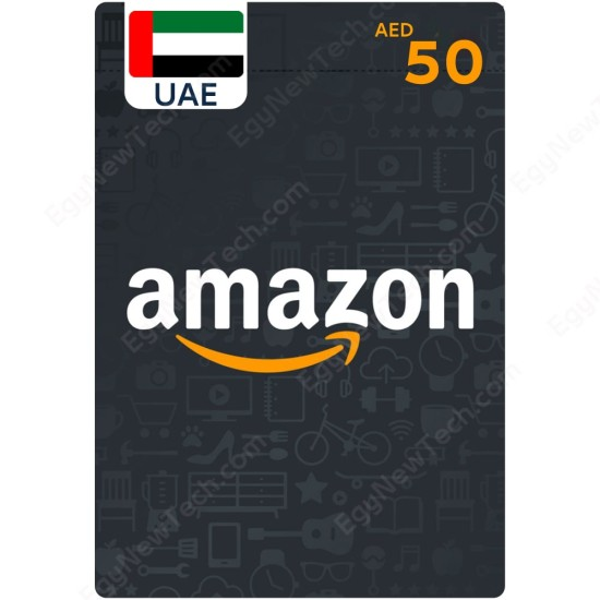 AED50 UAE Amazon Gift Card - Digital Code