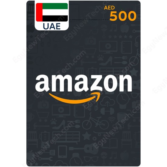 AED500 UAE Amazon Gift Card - Digital Code