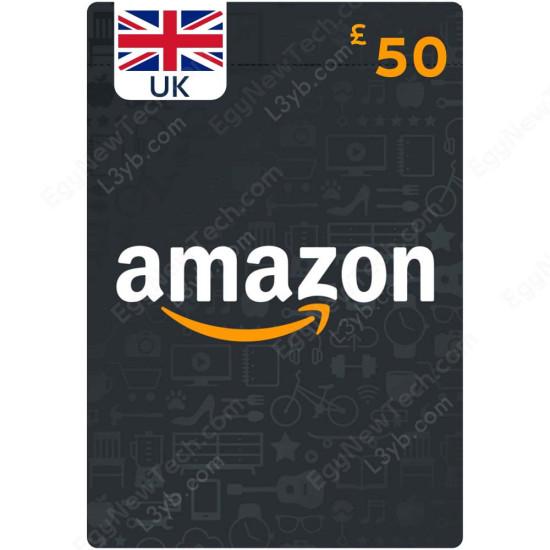 50 £ UK Amazon Gift Card - Digital Code