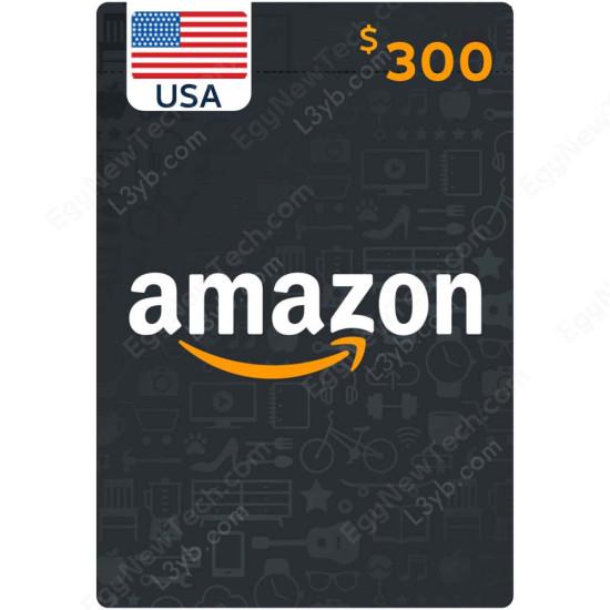 $300 USA Amazon Gift Card - Digital Code