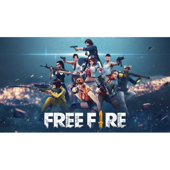 Free Fire 210 - 21 Diamond - Global - Digital Code