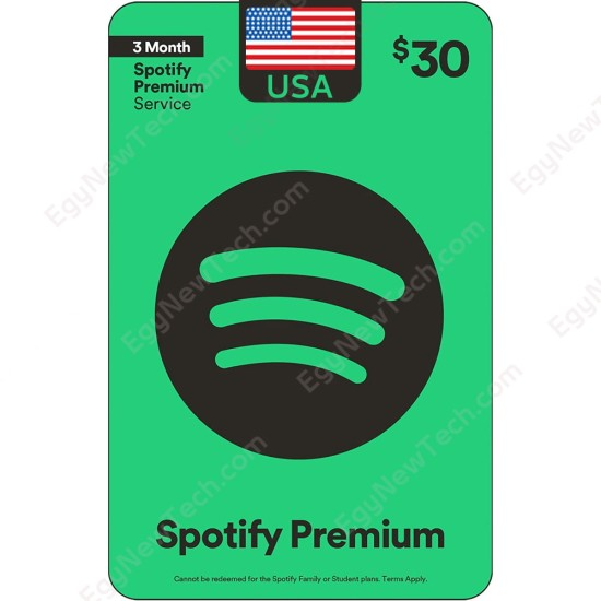 $30 Spotify - Digital Code