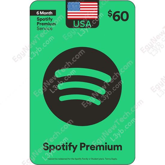 $60 Spotify - Digital Code