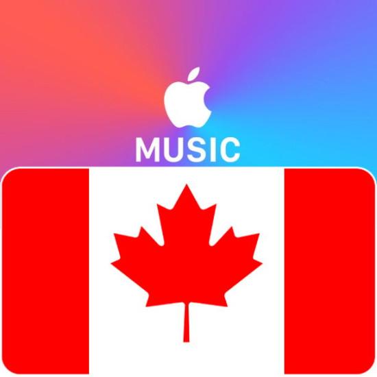 3 Month Canada Apple Music Membership - Digital Code