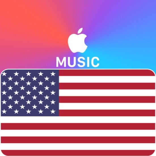 3 Month USA Apple Music Membership - Digital Code