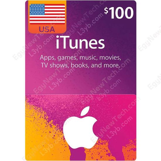$100 USA iTunes Gift Card - Digital Code