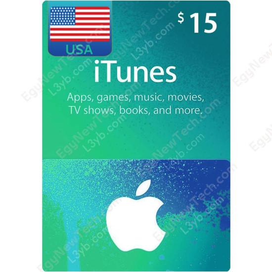 $15 USA iTunes Gift Card - Digital Code