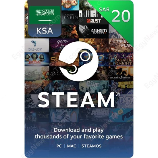 SAR20 KSA Steam - Digital Code