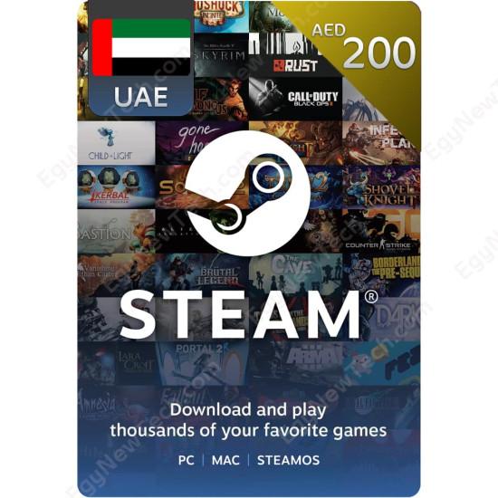 AED200 UAE Steam - Digital Code