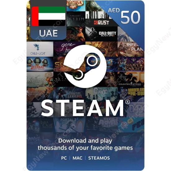 AED50 UAE Steam - Digital Code