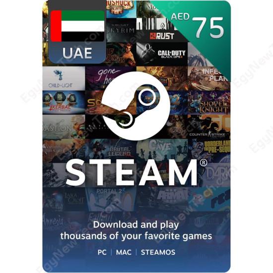 AED75 UAE Steam - Digital Code