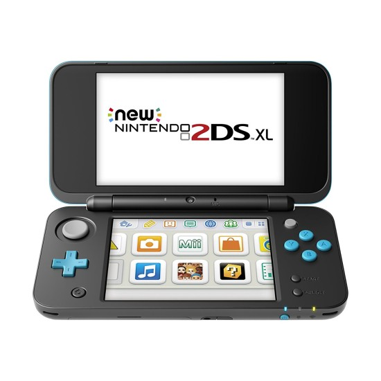 New Nintendo 2DS XL - Black and Turquoise | Nintendo 3Ds