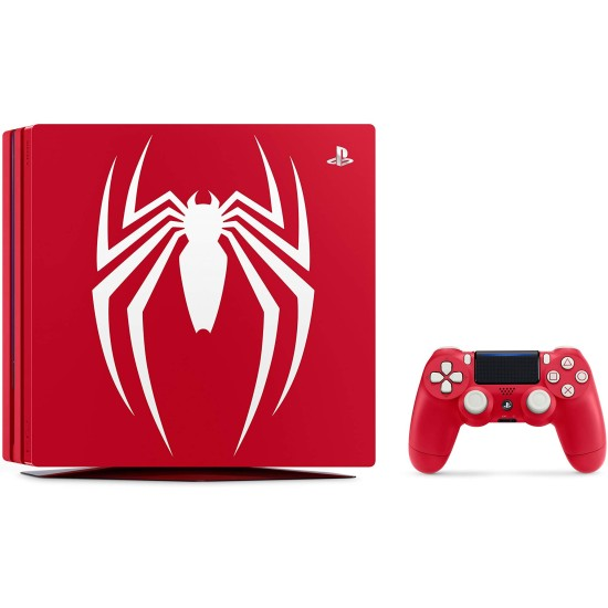 Sony PlayStation 4 Pro 1TB Limited Edition Console - Marvels Spider-Man Bundle