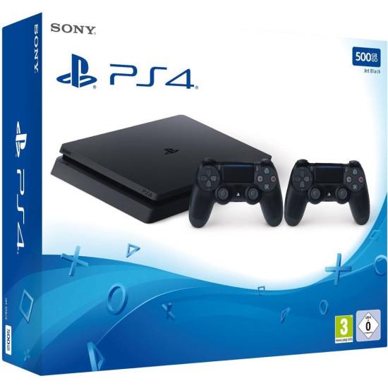 Sony PlayStation 4 Slim - 500GB - 2 Controller bundle