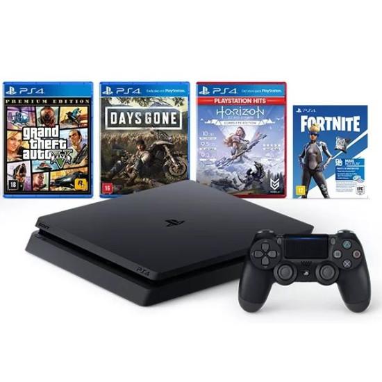Sony PlayStation 4 Slim - 1 TB - Mega Pack