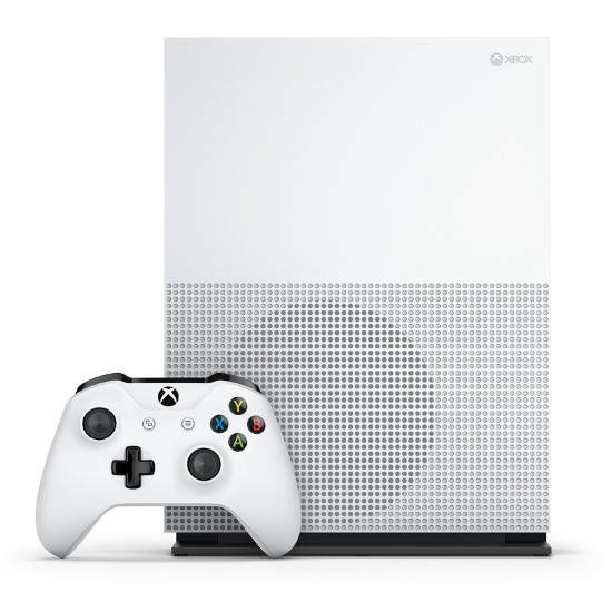 Microsoft Xbox One S 1TB Console - 2 Controllers Bundle