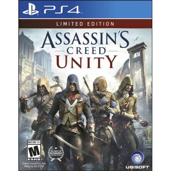 Assassins Creed Unity - Limited Edition   PS4
