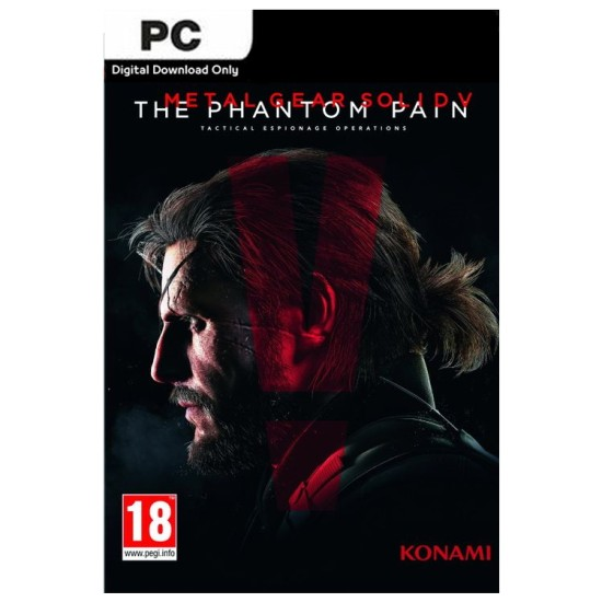 Metal Gear Solid V: The Phantom Pain - PC Steam Digital Code