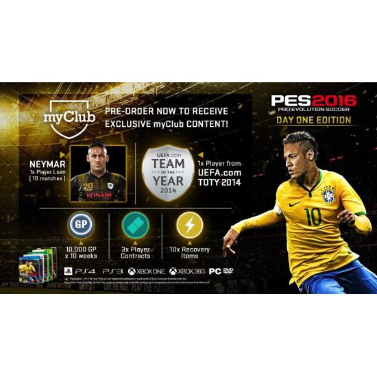 Pro Evolution Soccer 2016 - Day 1 Edition | XB1