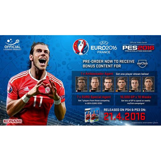 PES 2016 - UEFA Euro 2016 Edition | PS4