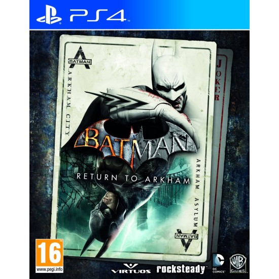 Batman Return to Arkham - Remastered Collection | PS4